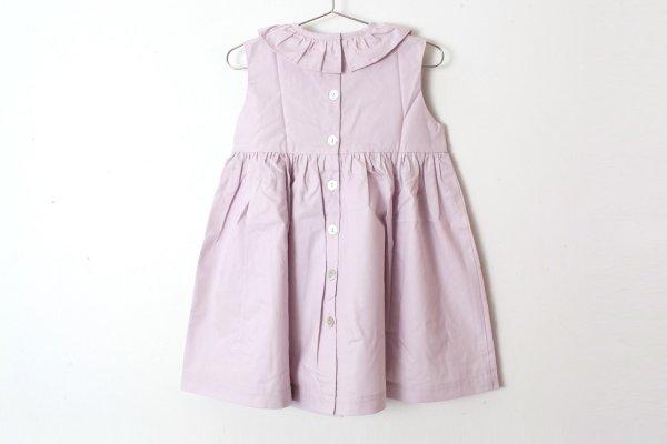 画像2: SALE20%OFF!! 子供服 Sleeveless Ruffleneck dress(WD010)