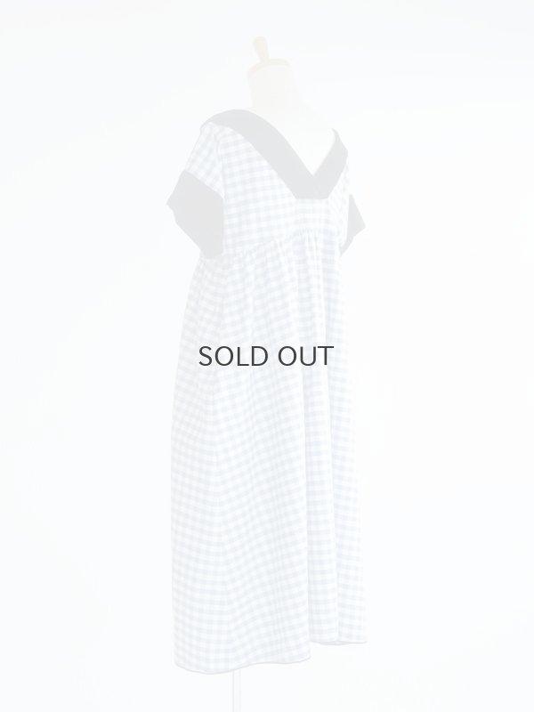 画像2: ギンガムのガーデンドレス