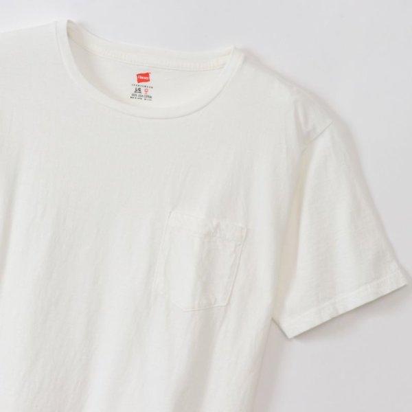 画像2: ポケット付きTシャツ(WH)