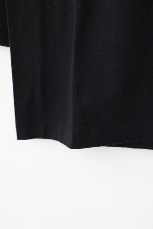 2: 30/-天竺 七分袖Tシャツ(191-6450:BK)