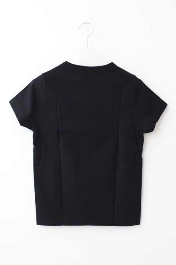 画像2: 30/-天竺 半袖Tシャツ(6271:BK)