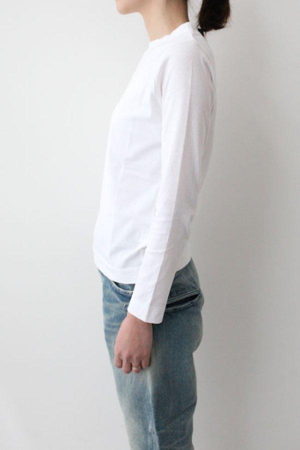 画像4: 30/-天竺 長袖Tシャツ(6616:WH)
