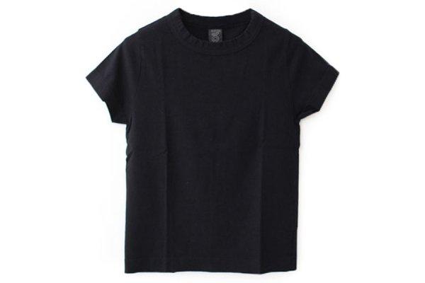 画像1: 30/-天竺 半袖Tシャツ(6271:BK)