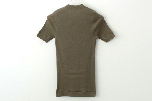 画像2: 40/- 丸胴テレコ クルーネック半袖プルオーバー(191-6301:OL)