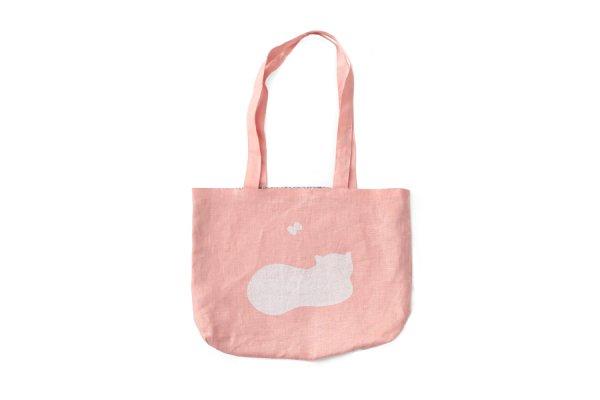 画像1: キャズエドゥミ20th スペシャルアイテム 3 ET DEMI tote bag(YS9790:PK)