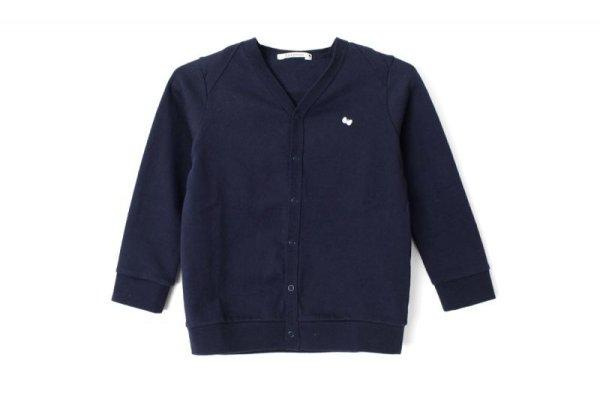 画像1: 子供服 zutto カーディガン(NV)