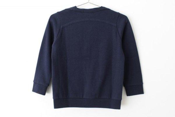 画像2: 子供服 zutto カーディガン(NV)