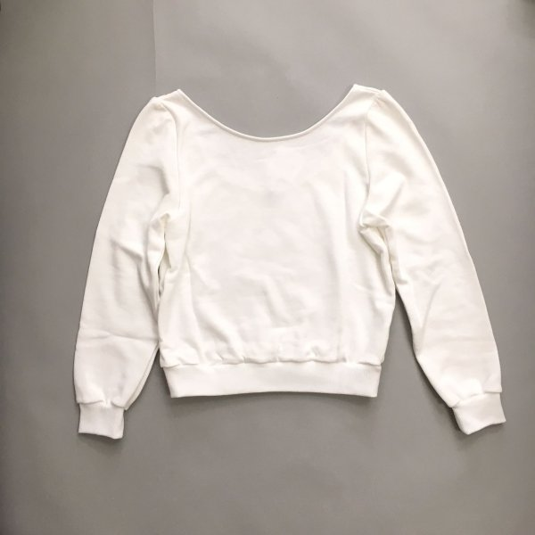画像2: SALE30%OFF!! Ballerina Sweatshirt(WH)